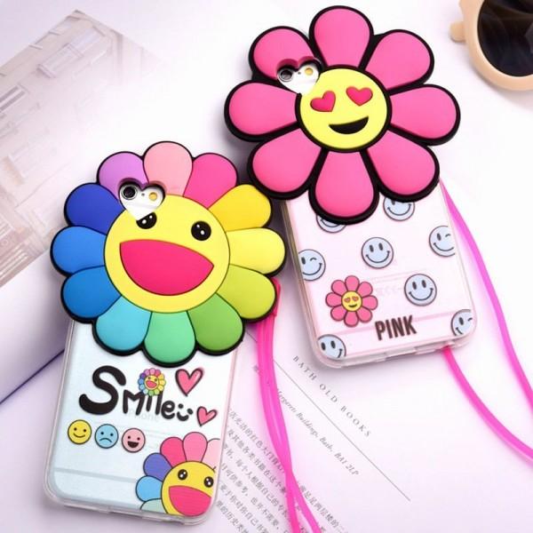 Joyful Sunflower iPhone Case