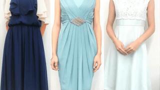 レンタルサービスでレンタルしたドレス3着の写真