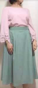 mimiさんがエアークローゼットでレンタルした洋服の着画像