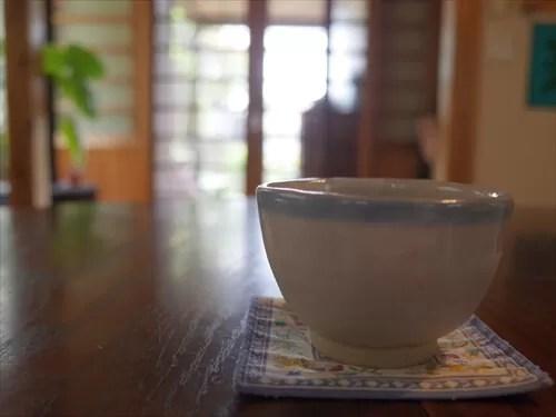 素敵な湯飲み茶碗
