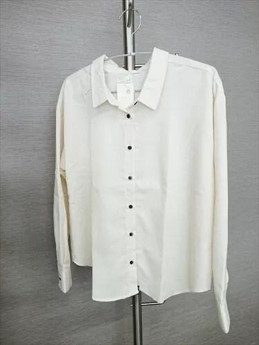 玉村麻衣子さんがセレクトした「earth music&ecology」のシャツ