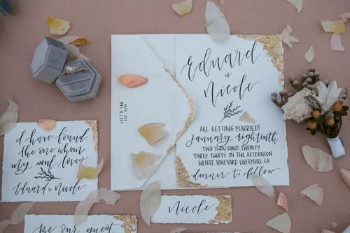 結婚のメッセージカード