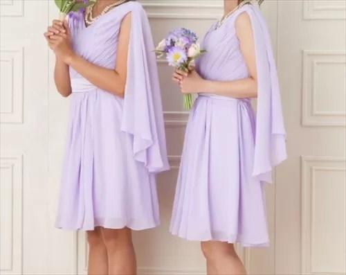 Cariruのブライズメイドドレス