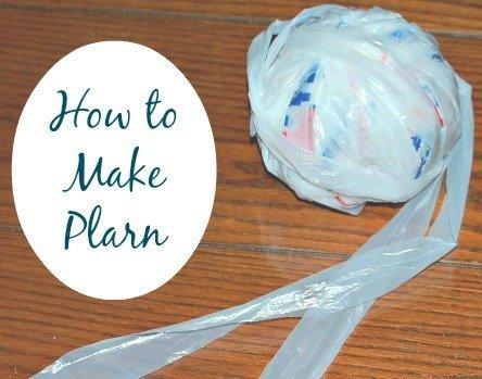 Recycle plastic grocery bags into plarn