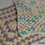 Crocheted Security Squares to Ease Bedtime Fears
