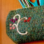 Felted Hook / Pencil Case Pattern