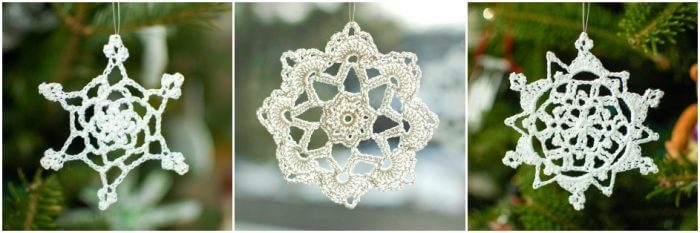 Pretty Picot Snowflake Pattern Petals To Picots