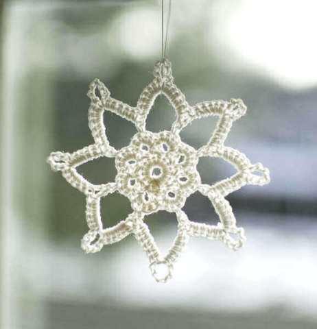 Grandma Jennies Snowflake Pattern Part 1 Petals To Picots
