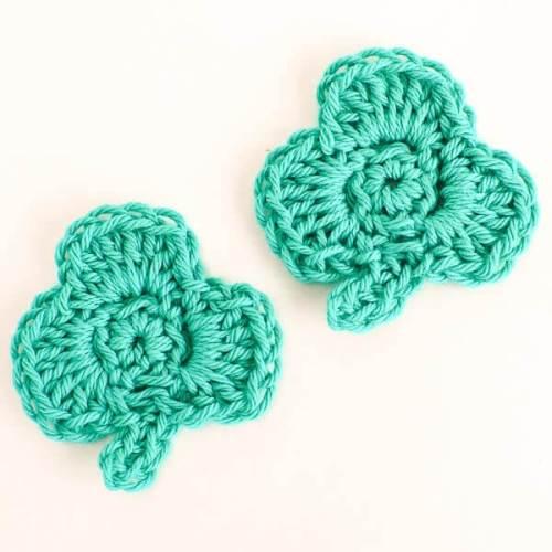 Saint Patricks Day Clover Crochet Pattern