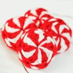 Peppermint Candies Christmas Crochet Pattern