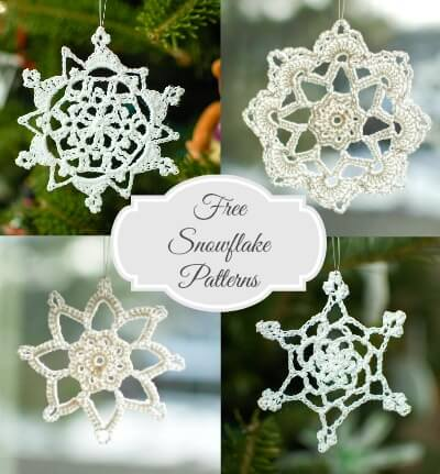 Free Snowflake Crochet Patterns Petals To Picots