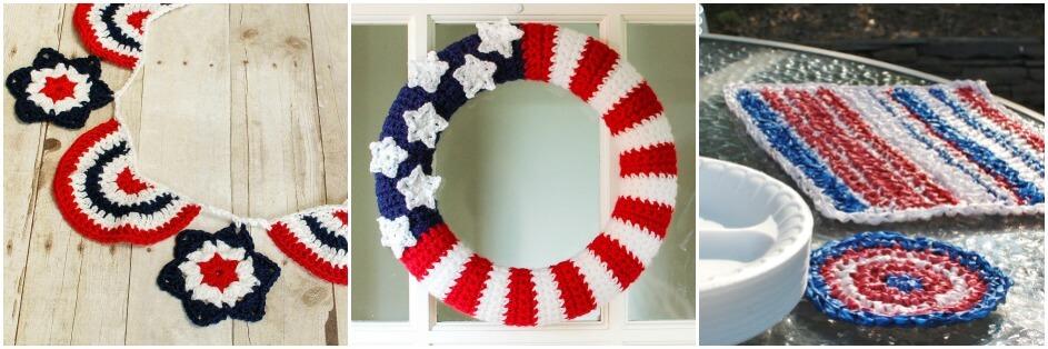free patriotic crochet patterns