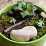 pot fairy garden