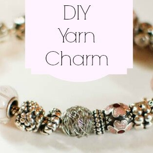 How to Make Your Own Yarn Charm