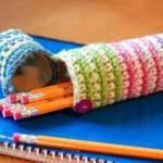 Crochet Pencil Case Pattern – Back to School Crochet