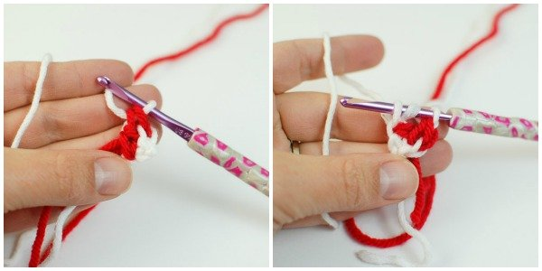 peppermint candies crochet how to 3