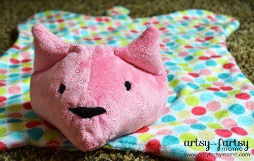 Cat Cuddle Blanket