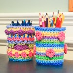 crochet mason jar cozy pattern