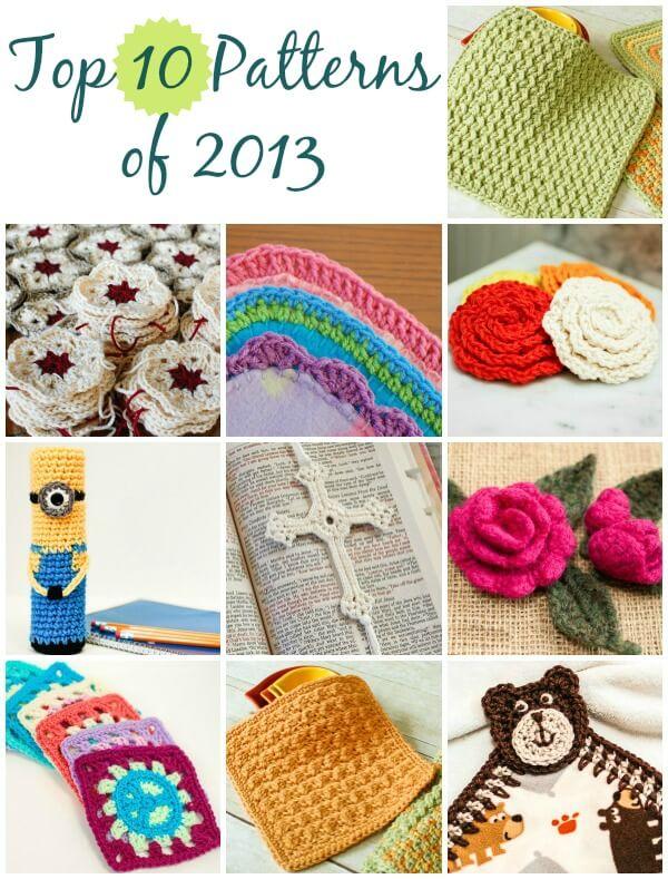 best free crochet patterns of 2013