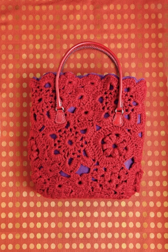 Mixed Motif Tote designed by Erika Knight