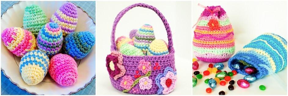 Free Easter crochet patterns   www.petalstopicots.com   #crochet #Easter