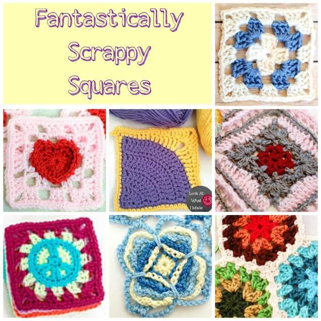 Free Motif Patterns | www.petalstopicots.com | #crochet #motif #granny #pattern #afghan #blanket