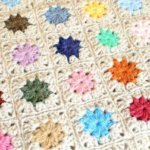 Joining Crochet Squares … Cluster Burst Afghan