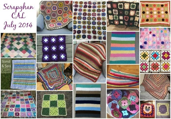 Scrapghan Crochet Along Roundup - July 2014