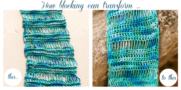 How to Block Knit and Crochet Items | www.petalstopicots.com