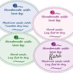 Printable Knit and Crochet Gift Tags for Your Handmade Gifts
