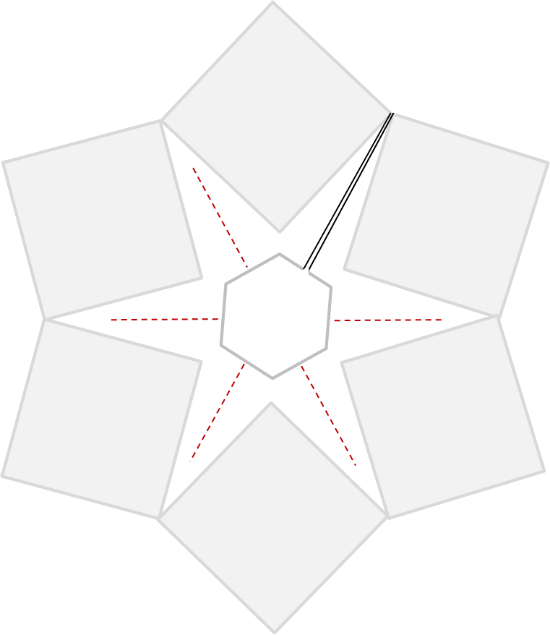 Crochet Christmas Tree Skirt Pattern Schematic