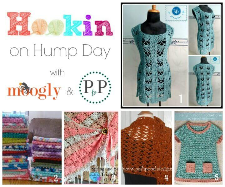 Hookin' on Hump Day #crochet #knit #fiberarts