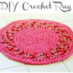 DIY Crochet Rug Pattern