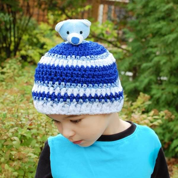 Top This Child Crochet Hat Pattern Petals To Picots