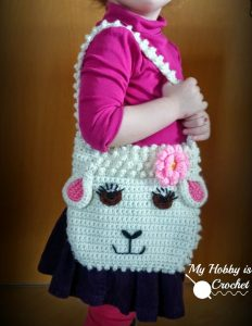 Darling Sheep Crochet Purse by My Hobby is Crochet