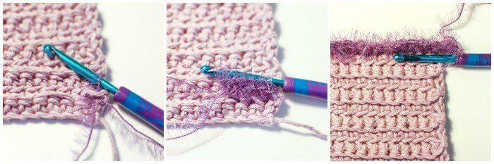 Free Scrubby Crochet Dishcloth Patterns - Step by Step