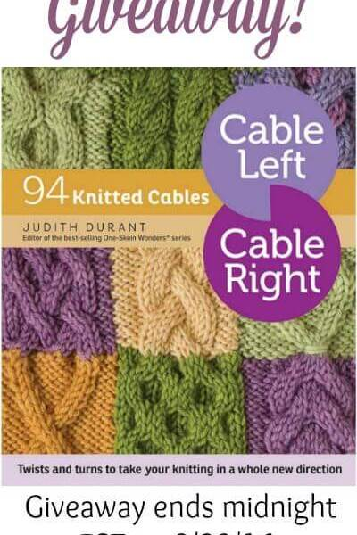 A Cable A Day: Giveaway!