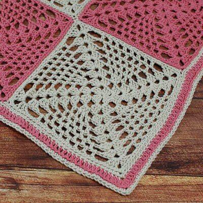 Retro-Chic Granny Square Crochet Pattern
