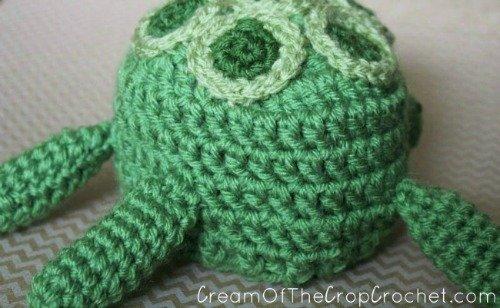Preemie/Newborn Turtle Crochet Hat Pattern - Pattern from Cream Of The Crop Crochet
