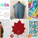 Hookin' on Hump Day #130: Link Party for the Fiber Arts
