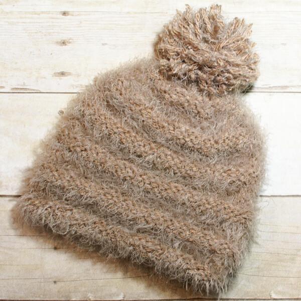 Nordic Knit Hat Pattern | www.petalstopicots.com | #knit
