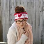 Queen of Hearts Ear Warmer Crochet Pattern