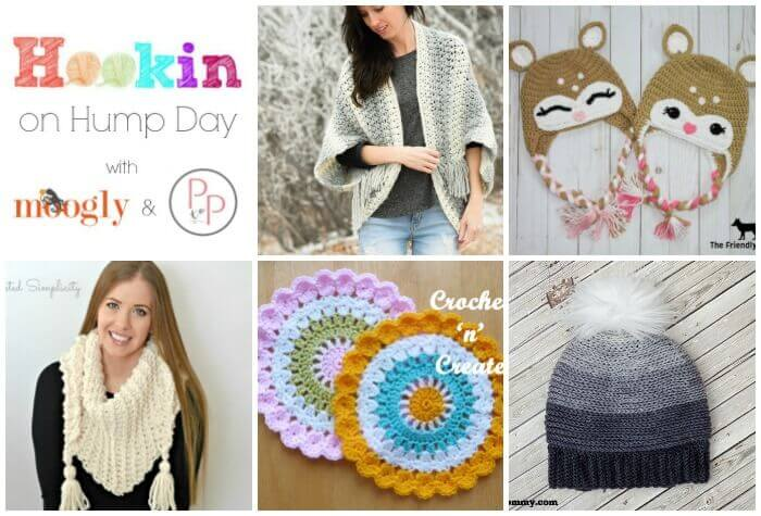 Hookin' on Hump Day #138: Link Party for the Fiber Arts