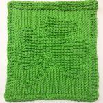 Free Saint Patrick's Day Crochet Patterns - Clover Dishcloth Pattern