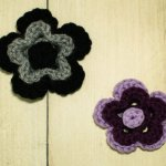 Stacked Flower Crochet Pattern
