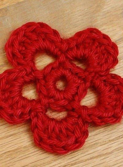 Sweet and Simple Crochet Flower Pattern