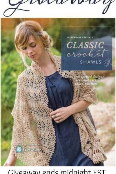 Interweave Presents: Classic Crochet Shawls – Book Giveaway