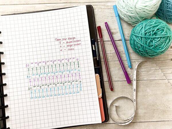Printable Crochet Project Planner   www.petalstopicots.com