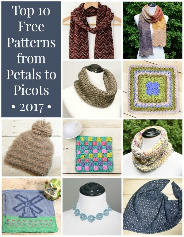 Top Patterns from Petals to Picots | www.petalstopicots.com