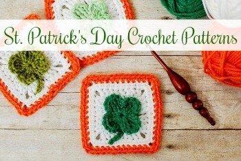 Free St. Patrick's Day Crochet Patterns | www.petalstopicots.com | #petalstopicots